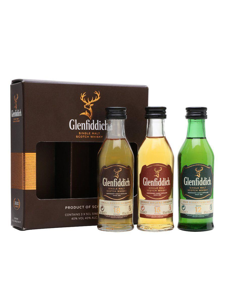 """<p><strong>glenfiddich</strong></p><p>thewhiskyexchange.com</p><p><strong>£17.95</strong></p><p><a href=""""https://go.redirectingat.com?id=74968X1596630&url=https%3A%2F%2Fwww.thewhiskyexchange.com%2Fp%2F3821%2Fglenfiddich-mini-pack-12-year-old-15-year-old-18-year-old-miniature&sref=https%3A%2F%2Fwww.countryliving.com%2Fshopping%2Fg5104%2Fvalentines-day-gifts-for-him%2F"""" rel=""""nofollow noopener"""" target=""""_blank"""" data-ylk=""""slk:Shop Now"""" class=""""link rapid-noclick-resp"""">Shop Now</a></p><p>Because some things really do get better with time, treat him to a mini set of 12-, 15-, and 18-year-old Glenfiddich whiskies.</p>"""