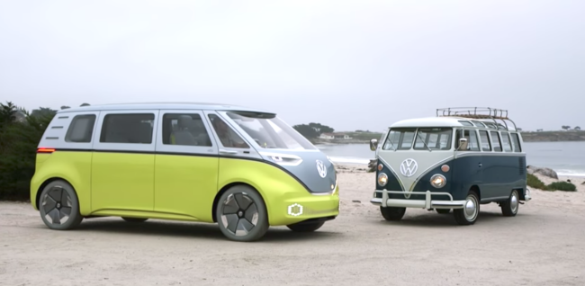 VW Volkswagen ID Buzz bus