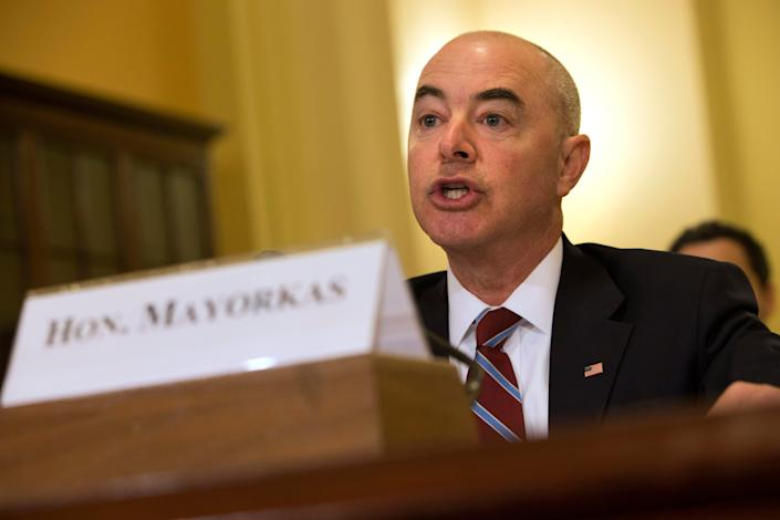 Alejandro Mayorkas is nominated to serve as secretary of the Department of Homeland Security.