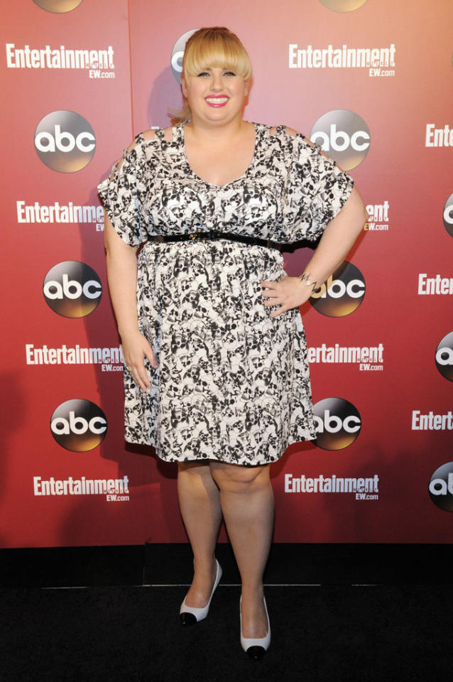 "Rebel Wilson (""Super Fun Night"") attends the Entertainment Weekly & ABC 2013 New York Upfront Party at The General on May 14, 2013 in New York City."
