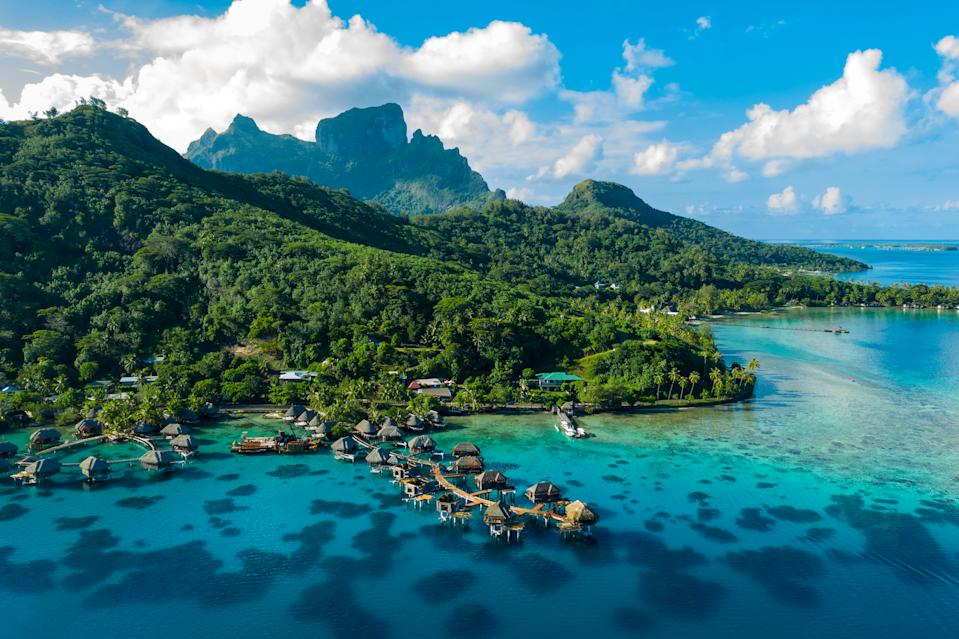 French Polynesia, pictured here, isn't recognized as a country by the United Nations, but it still is welcoming Americans when much of the world is not. (Photo: Getty)