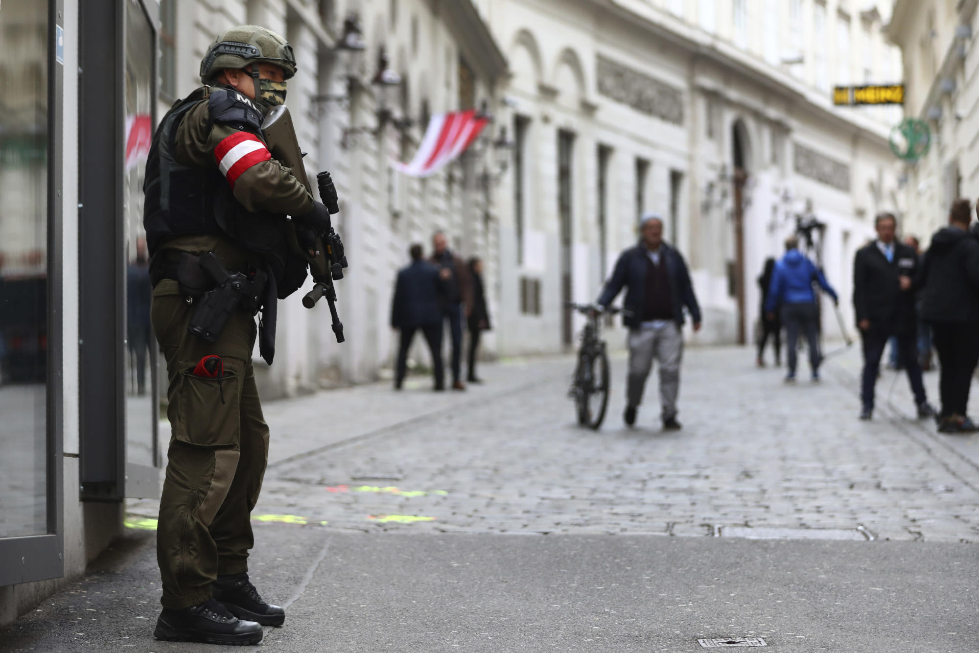 Calm returns to Vienna as police probe gunman who killed 4