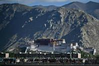 The Chinese government is heavily promoting tourism in Tibet, a politically sensitive region