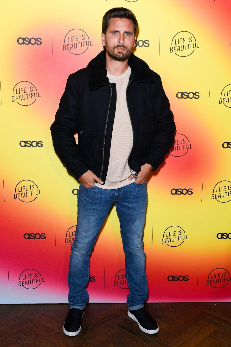 """<p>Scott may not be an official member of the Kardashian/Jenner family, but he may as well be at this point. According to <em><a href=""""https://www.celebritynetworth.com/richest-celebrities/actors/scott-disick-net-worth/"""" rel=""""nofollow noopener"""" target=""""_blank"""" data-ylk=""""slk:Celebrity Net Worth"""" class=""""link rapid-noclick-resp"""">Celebrity Net Worth</a></em>, Lord Disick is worth $40 million. While Scott makes money from his appearances on <em>KUWTK</em>, he also has his own show on E!, called <em>Flip It Like Disick, </em>not to mention other endorsement deals and business ventures. </p>"""