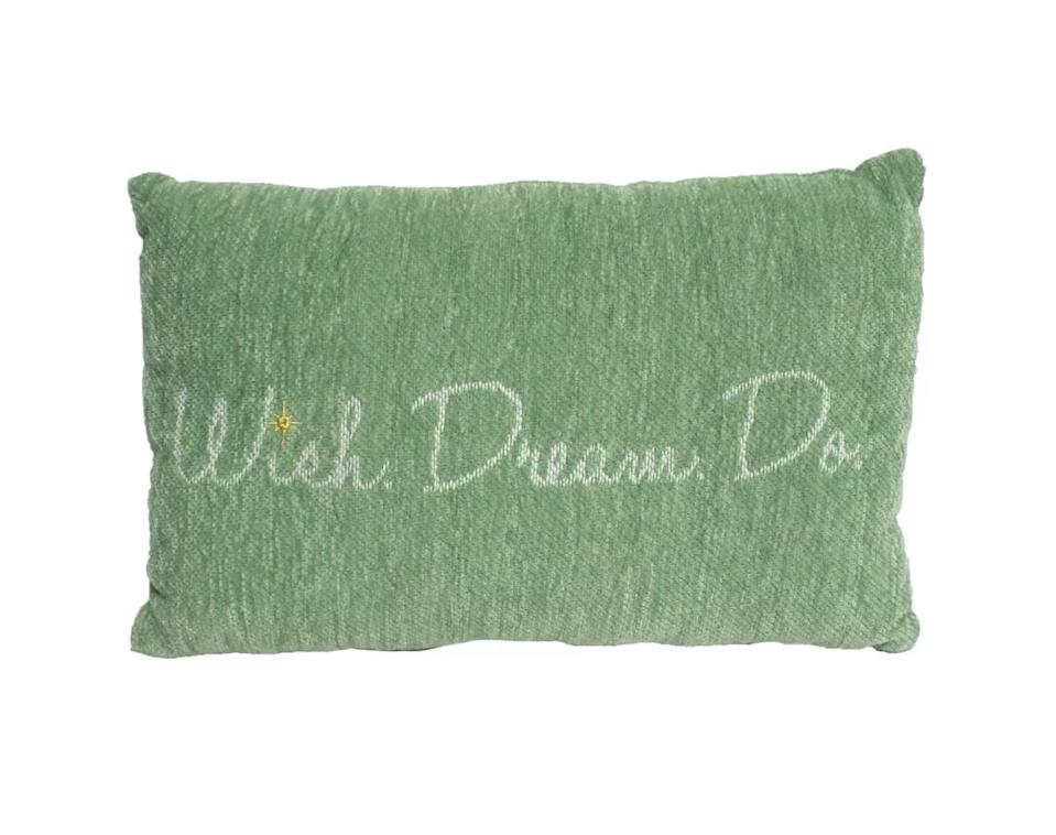 """<p>This cozy <span>Disney Princess X POPSUGAR Tiana Decor Pillow</span> ($20) reads """"Wish. Dream. Do.,"""" and it'd make a fab gift for anyone you know who could use a little inspiration.</p>"""