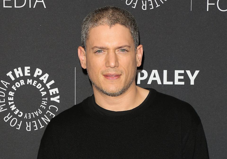 BEVERLY HILLS, CA - MARCH 29:  Actor Wentworth Miller attends the
