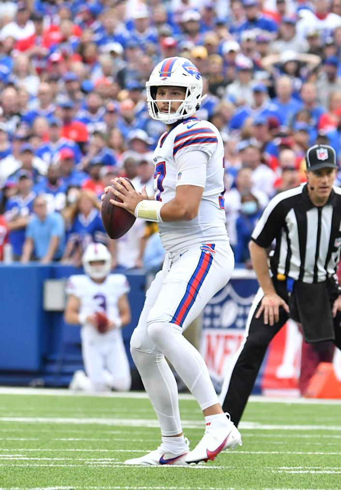 Josh Allen is 5-1 against the Dolphins.