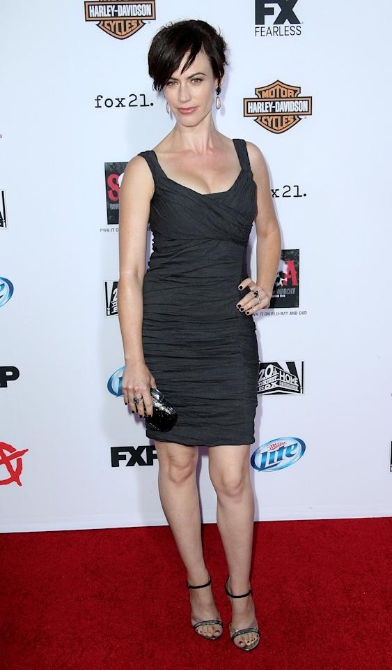 """Premiere Of FX's """"Sons Of Anarchy"""" Season 6 - Arrivals"""