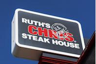 """<p>For many people, the ultimate Christmas gift is a big, hearty meal with family and friends. A representative from <a href=""""https://www.ruthschris.com/"""" rel=""""nofollow noopener"""" target=""""_blank"""" data-ylk=""""slk:Ruth's Chris"""" class=""""link rapid-noclick-resp"""">Ruth's Chris</a> confirmed to GoodHousekeeping.com that the restaurant will have their doors wide open this holiday — they're open 365 days a year.</p>"""