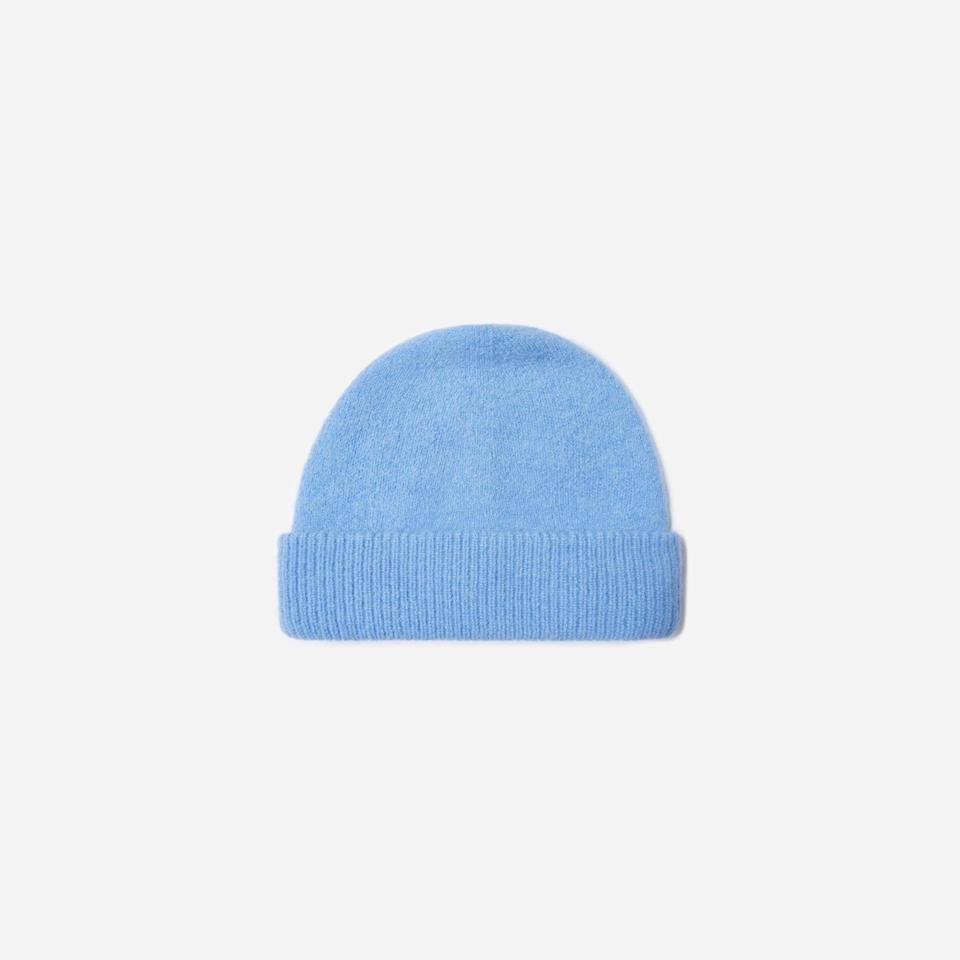 """<p><strong>Everlane</strong></p><p>everlane.com</p><p><strong>$36.00</strong></p><p><a href=""""https://go.redirectingat.com?id=74968X1596630&url=https%3A%2F%2Fwww.everlane.com%2Fproducts%2Funisex-alpaca-beanie-sky-blue&sref=https%3A%2F%2Fwww.esquire.com%2Fstyle%2Fmens-fashion%2Fg35086246%2Feverlane-end-of-year-sale-2020%2F"""" rel=""""nofollow noopener"""" target=""""_blank"""" data-ylk=""""slk:Shop Now"""" class=""""link rapid-noclick-resp"""">Shop Now</a></p>"""