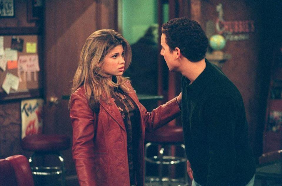 <p>In <em>Boy Meets World,</em> Chubbies was the ultimate hang out and Cory Matthews, Shawn Hunter, and Topanga Lawrence frequented it often. From junior high to their high school graduation, the restaurant's red leather booths were a go-to for first dates and Friday night hangs. It wasn't until the show moved into the college years that the group grew out of the arcade eatery. </p>