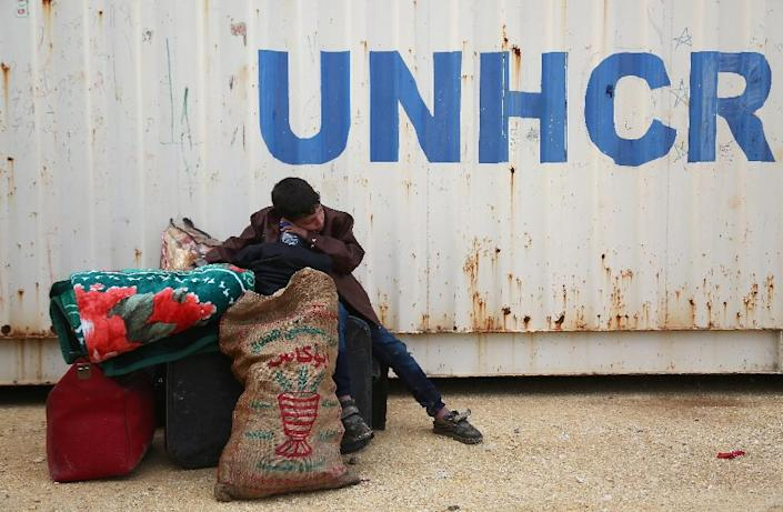 More than six million Syrians have been internally displaced by the war (AFP Photo/Nazeer al-Khatib)