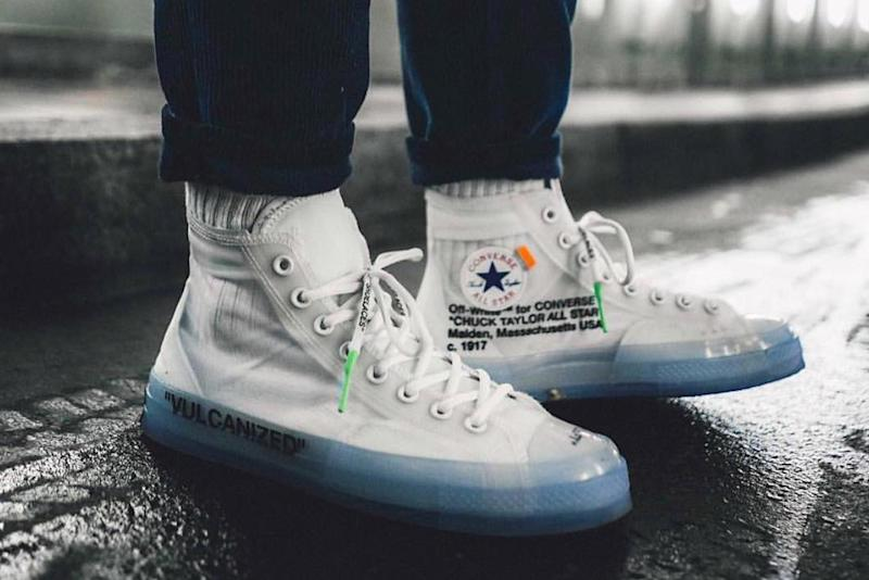 release date: 78616 e17e2 The Best Look Yet at the Off-White x Converse Chuck Taylor Releasing in 2018