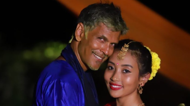 Milind Soman and Ankita Konwar are known for their couple activities, be it running or travelling.