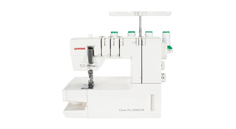 Janome Coverpro 2000CPX Coverstitch Hemmer