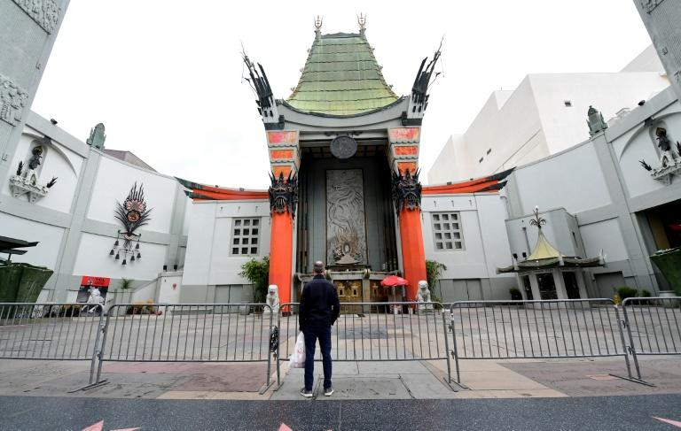 The TCL Chinese Theater in Hollywood is among the many cinemas shuttered around the world