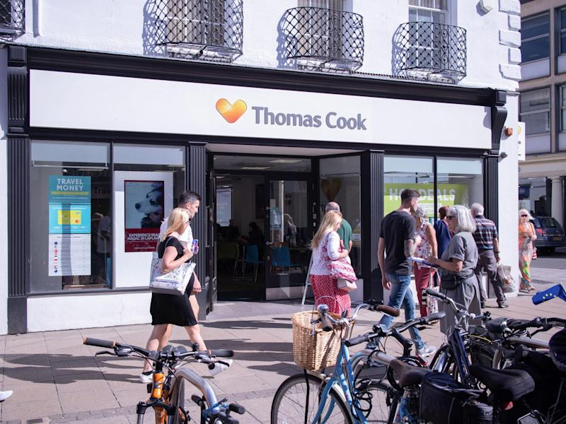 Thomas Cook was one of the last travel agencies to keep stores on the high streets: iStock