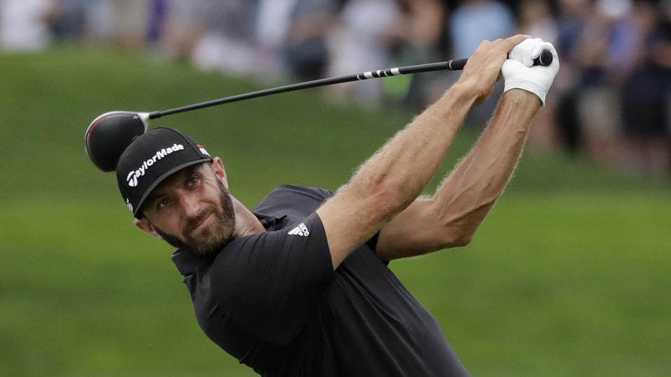 Though he won't play next week at the Hero World Challenge, Dustin Johnson will still participate in the Presidents Cup next month in Australia.