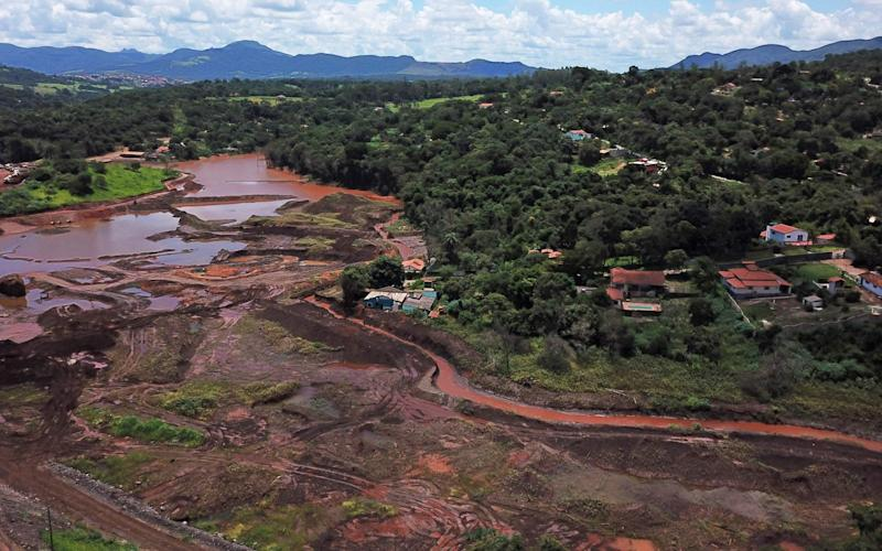 The dam collapse inBrumadinho resulted in the deaths of 270 people - AFP