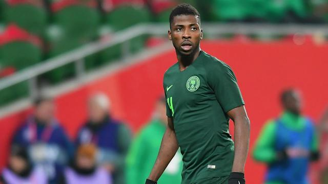 The Leicester City striker spoke of working hard to fulfilling his dream of turning out in Nigeria colours, and hopes to get one over his idol