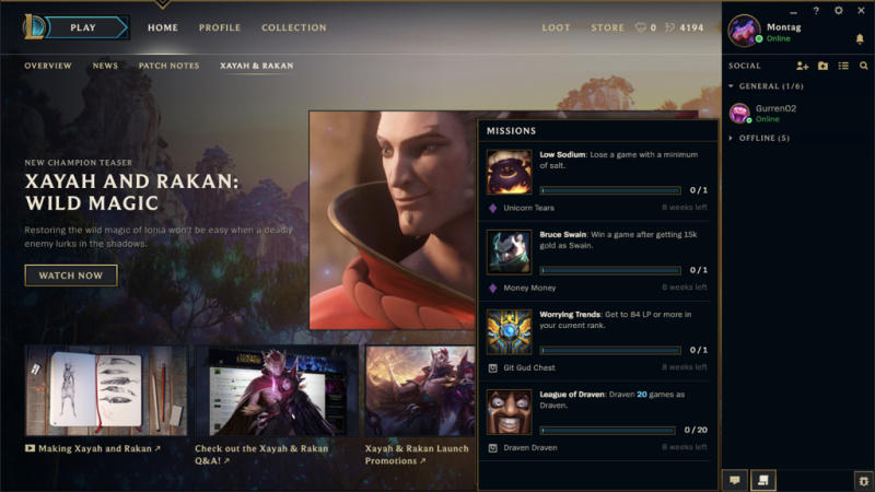This is what the League of Legends client is going to look like soon (Riot Games)