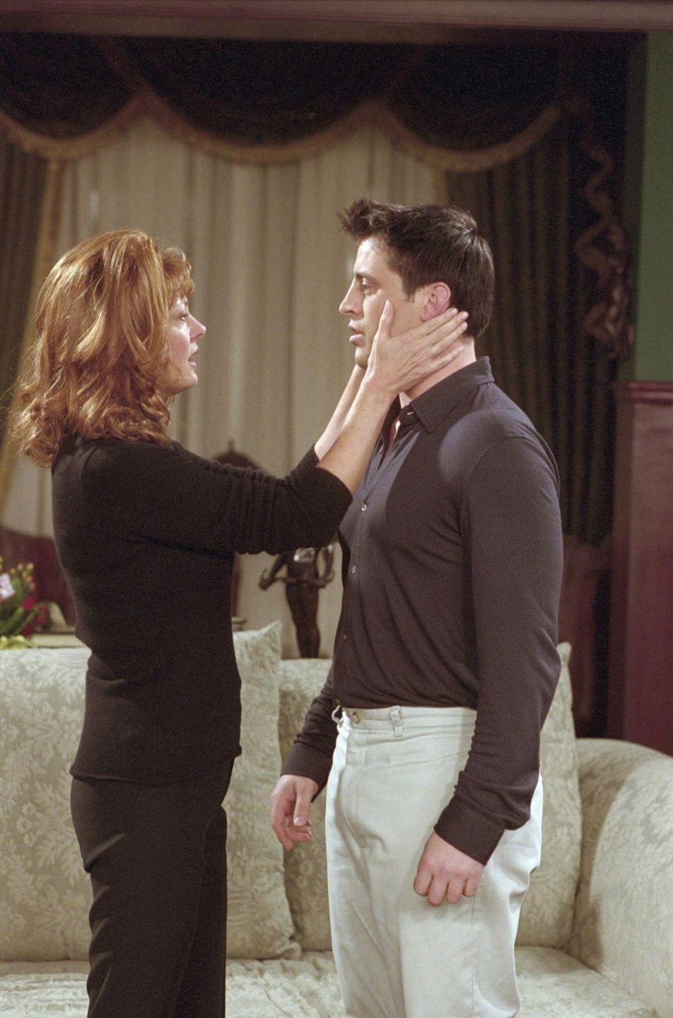 <p>Susan Sarandon served up a dramatic performance as soap star Jessica Lockhart in season 7 of the show alongside Joey.</p>
