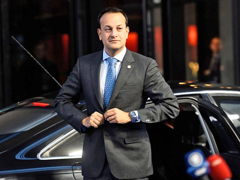 Irish PM Varadkar has asked for more assurances from the UK on the NI border (AFP/Getty)