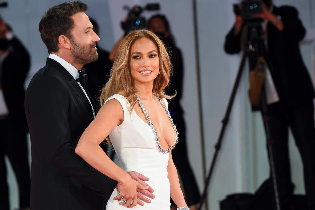Ben Affleck and Jennifer Lopez attend the red carpet of the movie