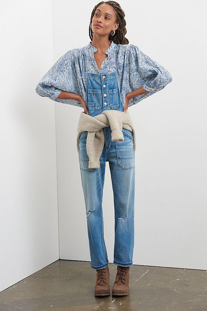 """<br><br><strong>Pilcro</strong> Pilcro Painters Denim Overalls, $, available at <a href=""""https://go.skimresources.com/?id=30283X879131&url=https%3A%2F%2Fwww.anthropologie.com%2Fshop%2Fpilcro-painters-denim-overalls2"""" rel=""""nofollow noopener"""" target=""""_blank"""" data-ylk=""""slk:Anthropologie"""" class=""""link rapid-noclick-resp"""">Anthropologie</a>"""