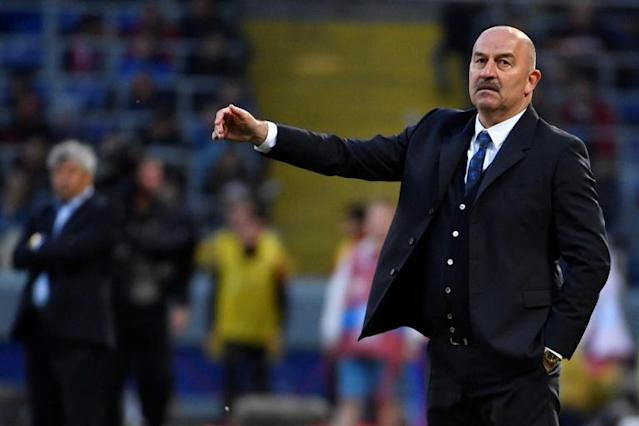 For Russian coach Stanislav Cherchesov, a draw with Turkey brought and unwanted record