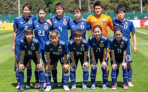 Japan home kit, 2019 Women's World Cup - Credit: ADIDAS