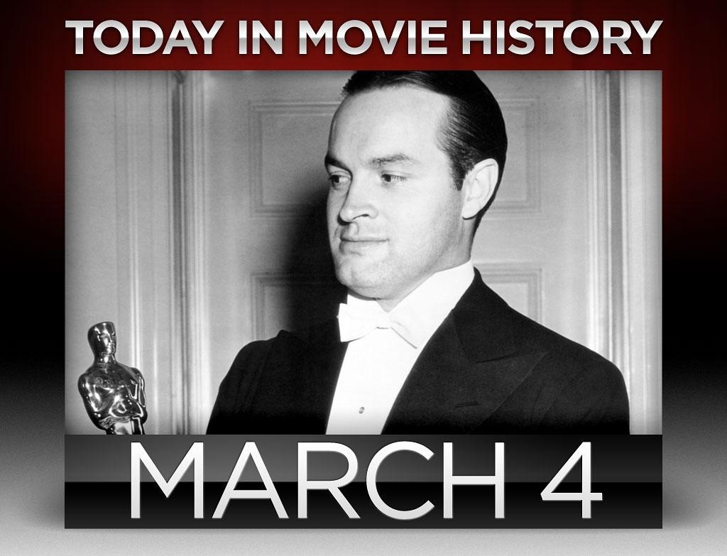 "<strong>1943</strong> – Remember when the Oscars' host didn't alienate half the viewership? That happened on this day when Bob Hope hosted the 15th Academy Awards. William Wyler's ""<a href=""http://movies.yahoo.com/movie/mrs-miniver/"">Mrs. Miniver</a>"" was the night's big winner, taking home six Oscars including Best Picture, Best Director, and Best Actress for Greer Garson, whose six minute acceptance speech is still the longest in Academy Awards history."