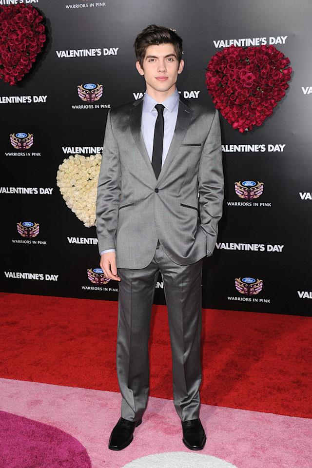 "<a href=""http://movies.yahoo.com/movie/contributor/1808482830"">Carter Jenkins</a> at the Los Angeles premiere of <a href=""http://movies.yahoo.com/movie/1810094501/info"">Valentine's Day</a> - 02/08/2010"