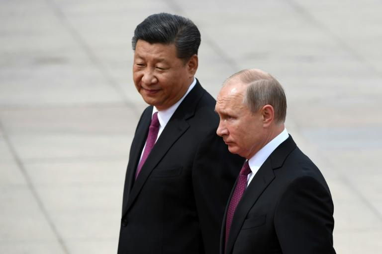 Russia's President Vladimir Putin will hold his third meeting with with China's Xi Jinping on Tuesday