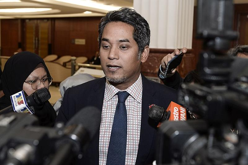On Monday, Khairy criticised the public caning carried out at the Terengganu Syariah Court by saying it went against the tenets of dignity and mercy espoused in Islam. — Picture by Miera Zulyana