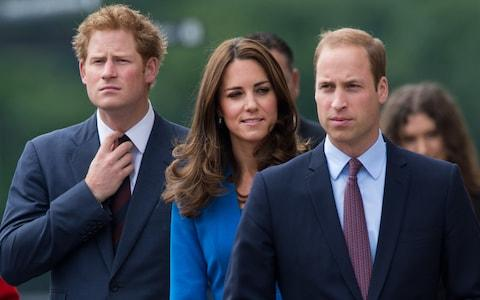Prince Harry and the Duchess and Duke of Cambridge - Credit: Samir Hussein/WireImage