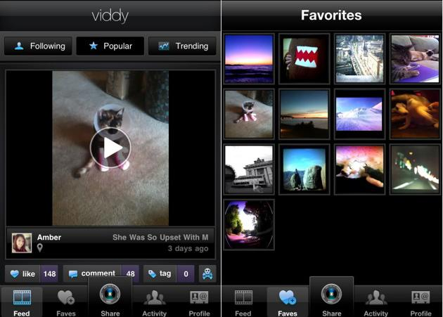 Viddy makes creating and sharing short video clips easy