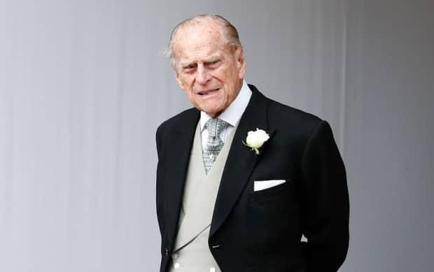Prince Philip is seen here attending the wedding of his granddaughter Princess Eugenie of York to Jack Brooksbank at St. George's Chapel on Oct. 12, 2018. (Alastair Grant/Getty Images - image credit)