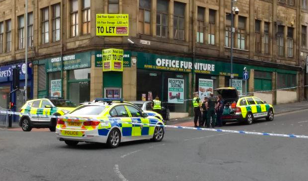 The horror crash took place in Bradford City Centre in August 2018. (SWNS)