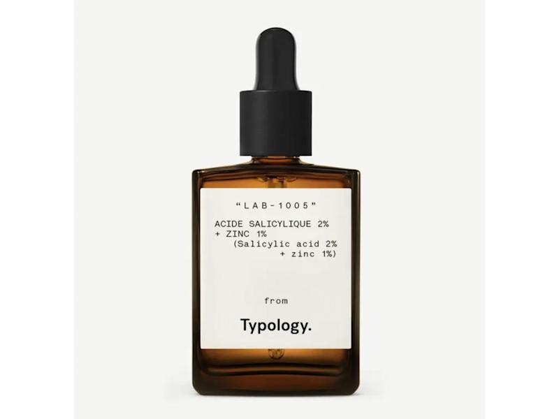 While suitable for all skin types, this salicylic acid serum will particularly benefit acne-prone complexionsTypology Paris