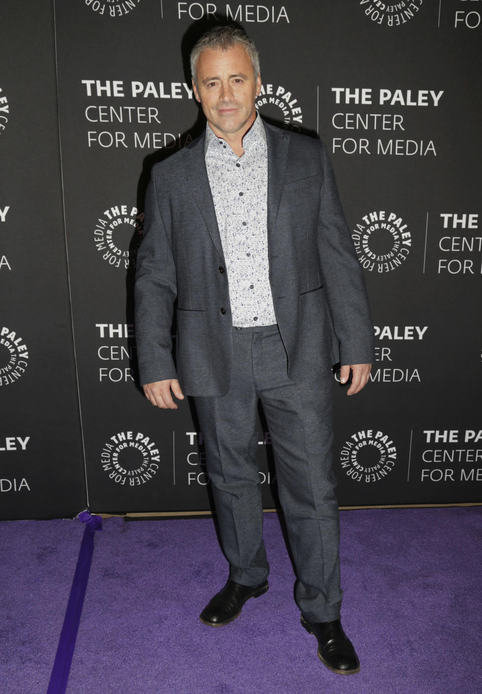 """FILE - Matt LeBlanc arrives at a premiere for the final season of """"Episodes"""" on Aug. 16, 2017, in Beverly Hills, Calif. LeBlanc turns 54 on July 25. (Photo by Alexander G. Seyum/Invision/AP, File)"""