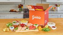 """<p><span>If you'd like to get more cooking practice, but you're not ready for more advanced dishes, you'll like Gobble's simple recipes that can be made in a single pot or pan in just 15 minutes. </span></p> <p><b>How Much Does Gobble Delivery Cost? </b><span>$11.99 per meal</span></p> <p><b>Is Gobble Delivery Worth It? </b><span>Gobble is a great option for the occasional days of the week when you're in the mood to throw together a wholesome meal. </span></p> <p><b>Who Is Gobble Best For?</b></p> <ul> <li><span>Best for couples or families who could enjoy a one-pot meal</span></li> <li><span>Good for novice cooks</span></li> <li><span>Skip it if you're looking for the best deal; meals tend to be pricey when compared with other services.</span></li> </ul> <p><em><strong>More From GOBankingRates</strong></em></p> <ul> <li> <div class=""""rt-td""""><em><strong><a class=""""link rapid-noclick-resp"""" href=""""https://www.gobankingrates.com/saving-money/savings-advice/life-hacks-save-money/?utm_campaign=1013201&utm_source=yahoo.com&utm_content=31"""" rel=""""nofollow noopener"""" target=""""_blank"""" data-ylk=""""slk:37 Life Hacks That Will Save You Money"""">37 Life Hacks That Will Save You Money</a></strong></em></div> </li> <li><em><strong><a class=""""link rapid-noclick-resp"""" href=""""https://www.gobankingrates.com/saving-money/budgeting/how-much-average-american-spends-daily/?utm_campaign=1013201&utm_source=yahoo.com&utm_content=32"""" rel=""""nofollow noopener"""" target=""""_blank"""" data-ylk=""""slk:Are You Spending More Than the Average American on 25 Everyday Items?"""">Are You Spending More Than the Average American on 25 Everyday Items?</a></strong></em></li> <li><em><strong><a class=""""link rapid-noclick-resp"""" href=""""https://www.gobankingrates.com/saving-money/savings-advice/unusual-money-moves-could-set-you-up-for-life/?utm_campaign=1013201&utm_source=yahoo.com&utm_content=33"""" rel=""""nofollow noopener"""" target=""""_blank"""" data-ylk=""""slk:60 Money Moves That Could Set You Up for Life"""">60 Money Moves That Could Set You Up for L"""