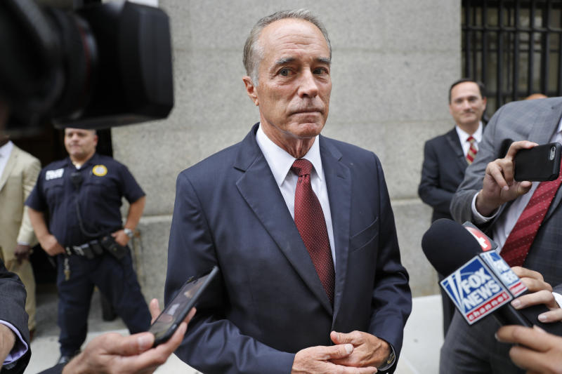 N.Y. Rep. Chris Collins to change plea in insider trading case