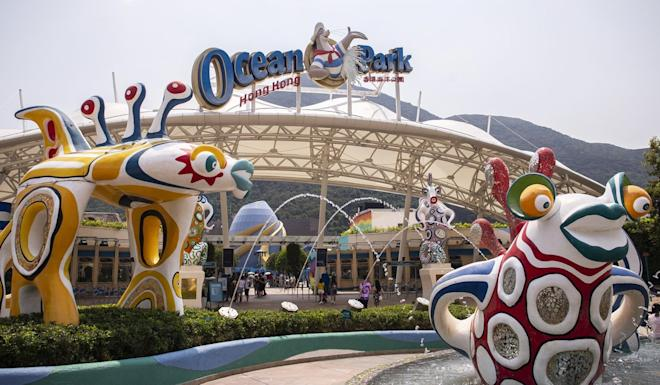 Ocean Park has planned to launch six projects by 2021. Photo: Bloomberg