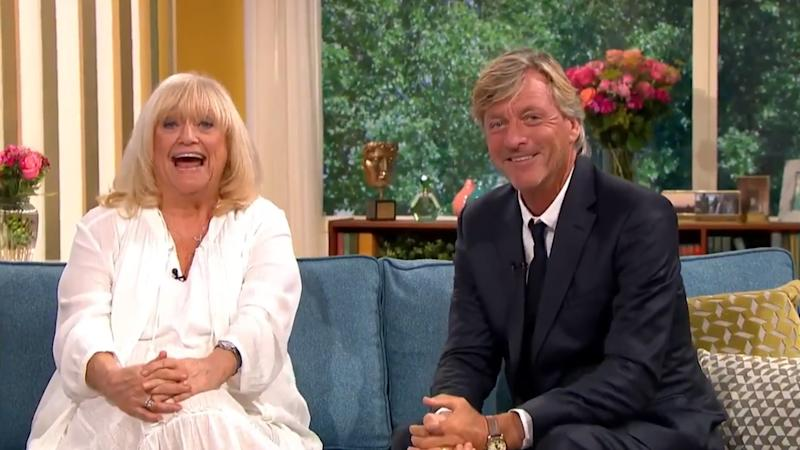 Judy Finnigan and Richard Madeley appeared on 'This Morning' for the first time in 18 years on Friday 9 August (ITV)