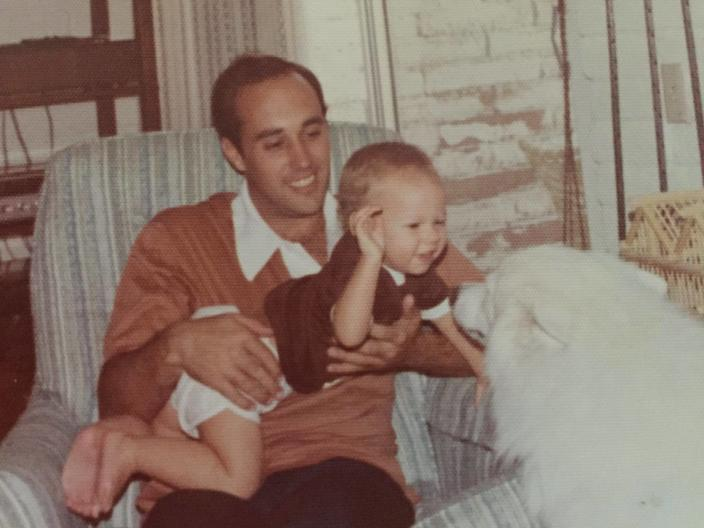 Pat O'Rourke and his son, Beto, from an undated photo. (Photo: courtesy Beto O'Rourke via Facebook)