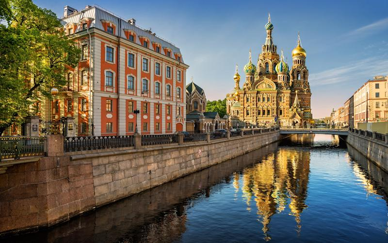 The Church of the Savior on Spilled Blood (actually the Church of the Resurrection) is as impressive for its beautiful icons as it is for its flamboyant domes - yulenochekk