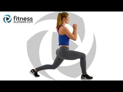 """<p>The perfect workout for when you've got no kit but a little more time, this 20 minute session will work your legs and glutes. Double win. </p><ul><li><strong>How long? </strong>20 minutes</li><li><strong>Equipment: </strong>None</li></ul><p><a href=""""https://www.youtube.com/watch?v=Hp39axsuFs8&ab_channel=FitnessBlender"""" rel=""""nofollow noopener"""" target=""""_blank"""" data-ylk=""""slk:See the original post on Youtube"""" class=""""link rapid-noclick-resp"""">See the original post on Youtube</a></p>"""