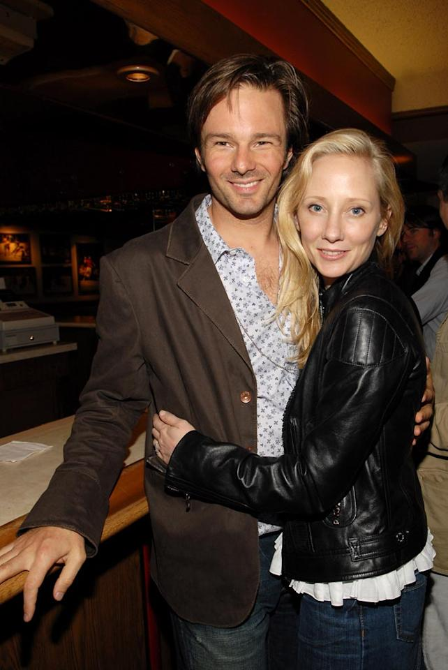 """Anne Heche is a heartbreaker. Just like she dumped Ellen DeGeneres in 2000, this January the actress went on to dump her husband of five years, Coley Laffoon, for her """"Men in Trees"""" co-star James Tupper. The couple has one son named Homer. Kevin Mazur/<a href=""""http://www.wireimage.com"""" target=""""new"""">WireImage.com</a> - May 21, 2006"""
