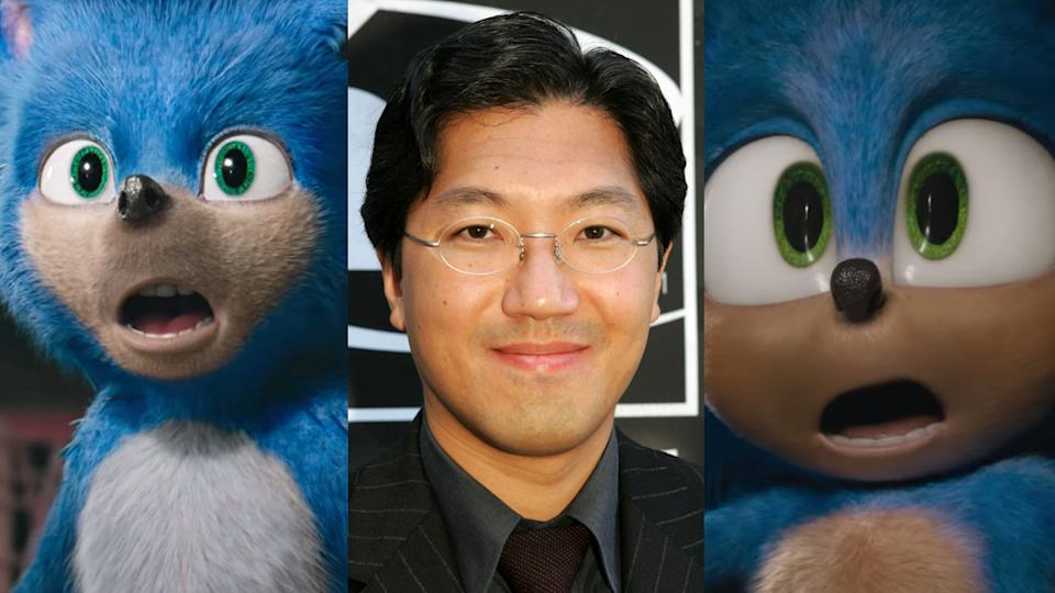 Sonic creator Yuji Naka is still on the fence about the movie redesign. (Credit: Paramount/Kevin Winter/Getty Images)